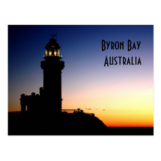 Bahía Australia de Byron Postales