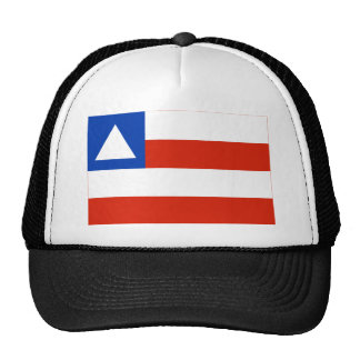 Bahia, Brazil Flag Trucker Hat
