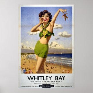Bahía británica 1949 de Whitley de los ferrocarril Impresiones