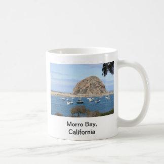 ¡Bahía California de Morro Tazas De Café