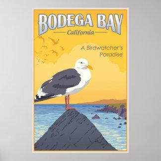 Bahía California del Bodega Poster