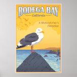 Bahía California del Bodega Póster
