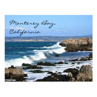 Bahía California, postal de Monterey