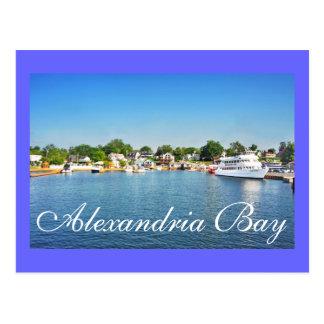 Bahía de Alexandría, Nueva York, los E.E.U.U. Tarjetas Postales