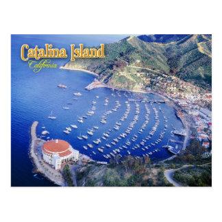 Bahía de Avalon, isla de Catalina, California Tarjetas Postales