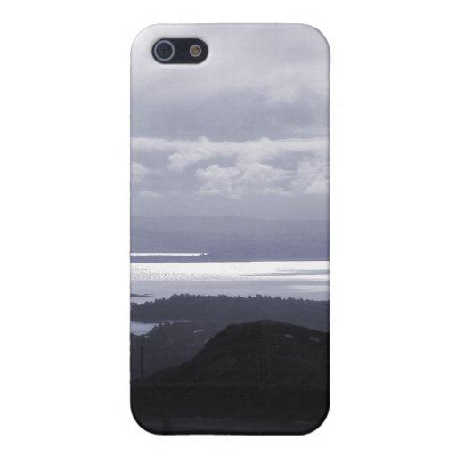 Bahía de Bantry del camino Irlanda del túnel. Azul iPhone 5 Carcasa