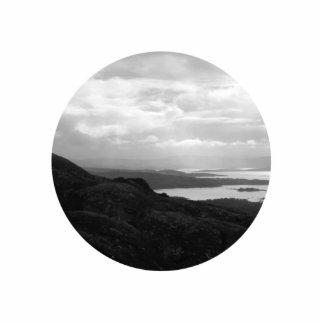 Bahía de Bantry del camino Irlanda del túnel Esculturas Fotograficas