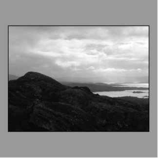 Bahía de Bantry del camino Irlanda del túnel Fotoescultura Vertical