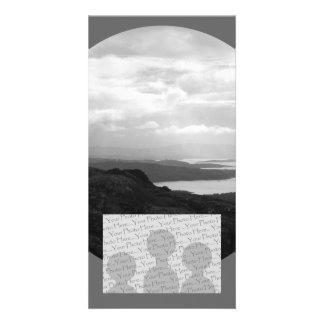 Bahía de Bantry del camino Irlanda del túnel Tarjeta Con Foto Personalizada