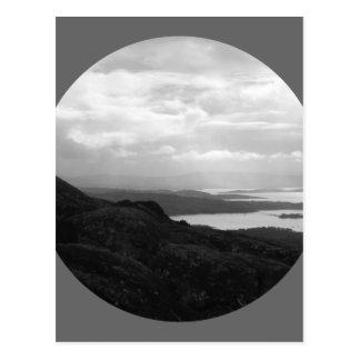 Bahía de Bantry del camino Irlanda del túnel Postales