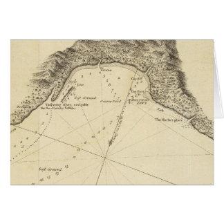 Bahía de Bonthain Tarjeta De Felicitación