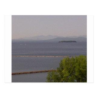 Bahía de Burlington, lago Champlain.jpg Postales