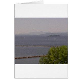 Bahía de Burlington, lago Champlain.jpg Tarjeta De Felicitación