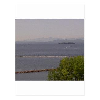 Bahía de Burlington, lago Champlain.jpg Tarjetas Postales