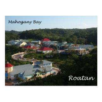 Bahía de caoba, Roatan Postales