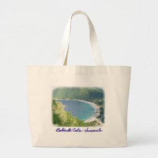 Bahía de Cata Handbag Bolsa Tela Grande