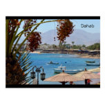 Bahía de Dahab - postal de Egipto