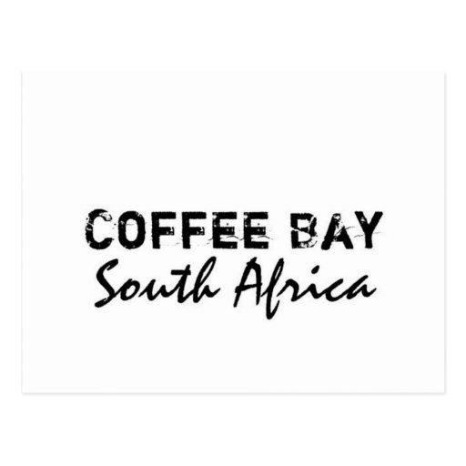Bahía de encargo del café de Africankoko, Postal