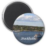 Bahía de Estocolmo Suecia Iman De Nevera