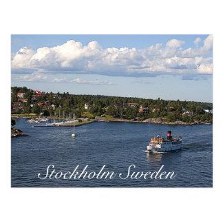 Bahía de Estocolmo Suecia Postales