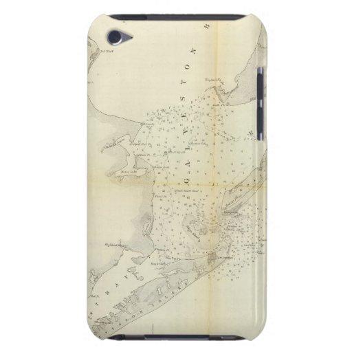 Bahía de Galveston, Tejas iPod Touch Case-Mate Coberturas