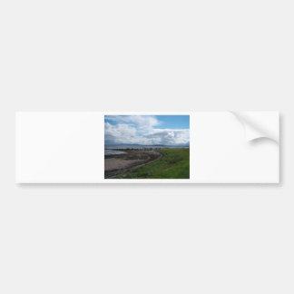 Bahía de Galway del Claddagh Pegatina Para Auto