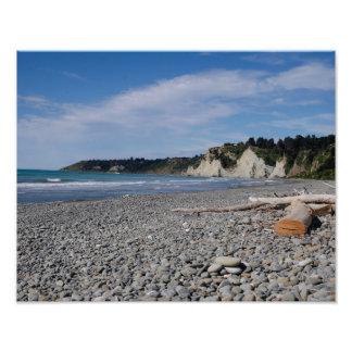 Bahía de Gore, Nueva Zelanda - impresión de la Cojinete