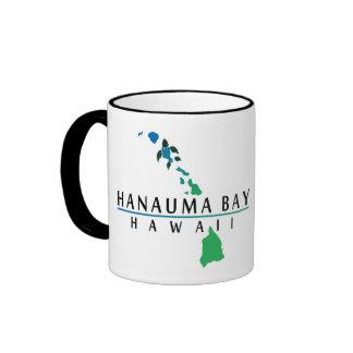 Bahía de Hanauma - islas de Hawaii Taza De Café