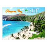 Bahía de Hanauma, Oahu - el paraíso de Snorkeler Postal