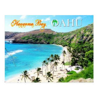 Bahía de Hanauma, Oahu - el paraíso de Snorkeler Tarjetas Postales