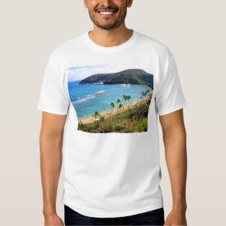 Bahía de Hanauma, opinión de Honolulu, Oahu, Camisas