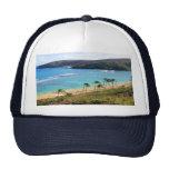 Bahía de Hanauma, opinión de Honolulu, Oahu, Hawai Gorro