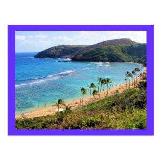 Bahía de Hanauma, opinión de Honolulu, Oahu, Hawai Tarjeta Postal