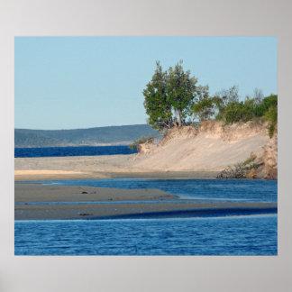 Bahía de Jervis de la cala de Moona Póster
