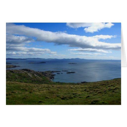 Bahía de Kerry, tarjetas de Irlanda