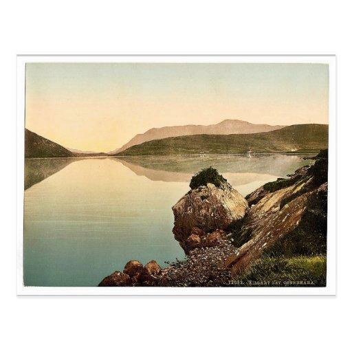 Bahía de Killary, Connemara. Co. magnif de Galway, Tarjetas Postales