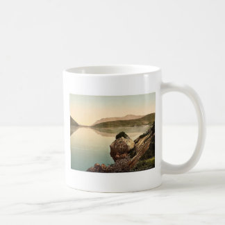 Bahía de Killary, Connemara. Co. magnif de Galway, Taza Básica Blanca