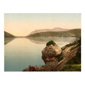 Bahía de Killary, Connemara, condado Galway Tarjeta Postal