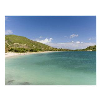 Bahía de la concha de berberecho, península postales