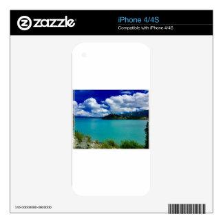 Bahía de la destrucción, el Yukón Calcomanía Para El iPhone 4