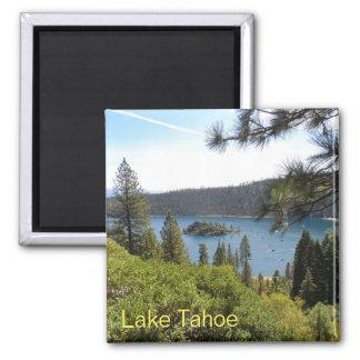 Bahía de la esmeralda de Tahoe- del lago Imán Cuadrado