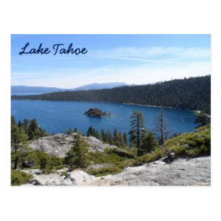 Bahía de la esmeralda de Tahoe- del lago Tarjeta Postal