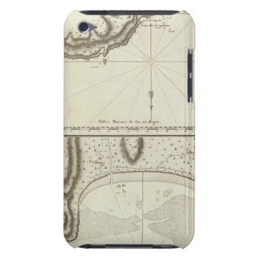 Bahía de la masacre, islas samoanas 2 iPod touch Case-Mate protectores