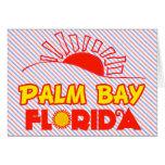 Bahía de la palma, la Florida Felicitacion
