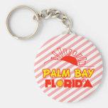 Bahía de la palma, la Florida Llaveros