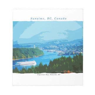 Bahía de la salida, Nanaimo, A.C. Bloc De Notas