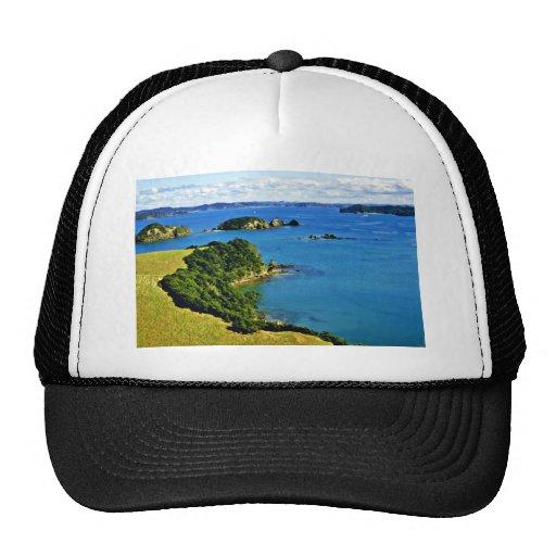 Bahía de las islas, isla del norte gorras