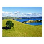 Bahía de las islas, isla del norte tarjetas postales