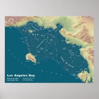 """Bahía de Los Ángeles--24"""" x18 """" Posters"""