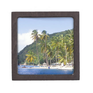 Bahía de Marigot St Lucia del Caribe Caja De Regalo De Calidad